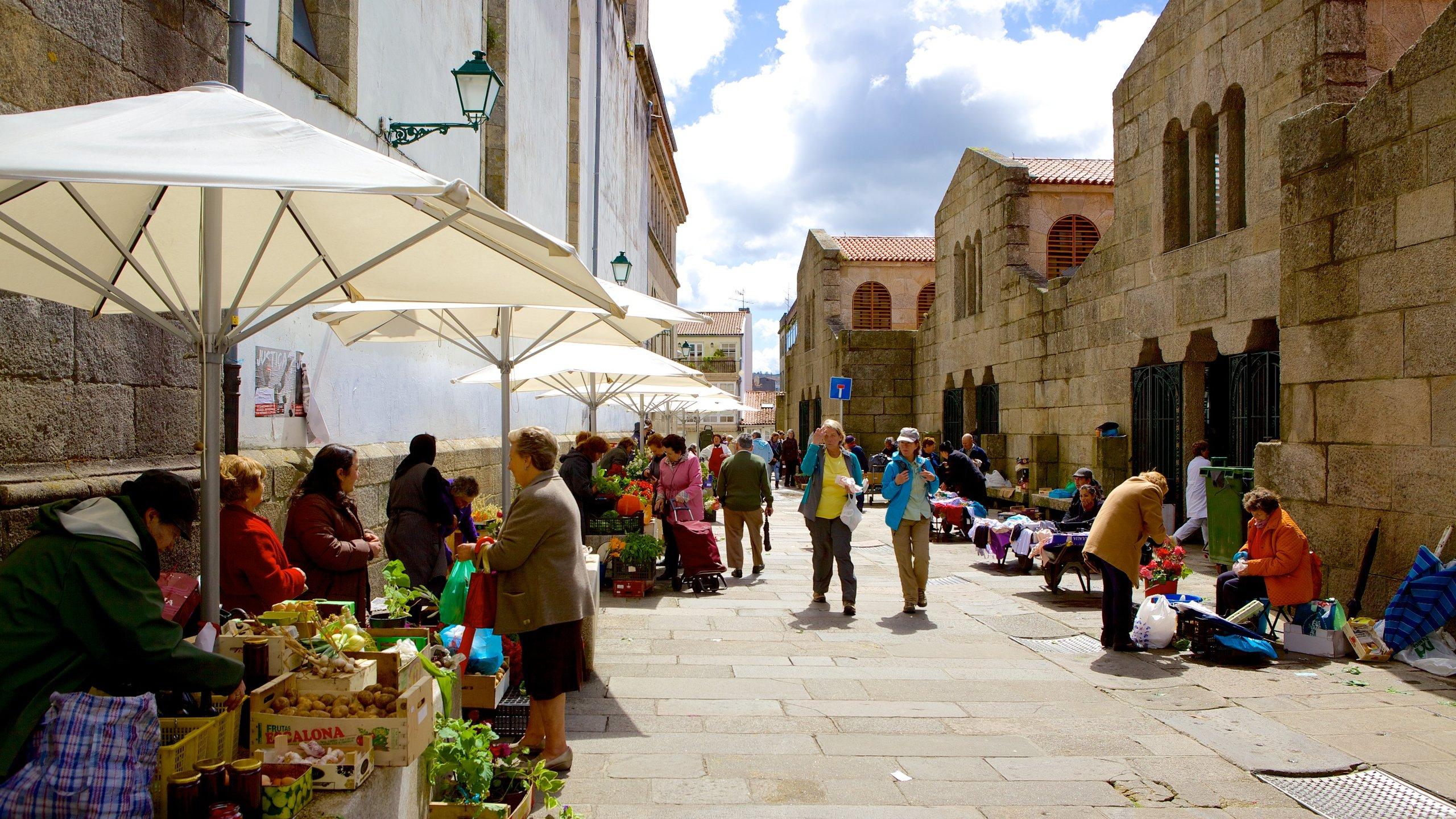 Mercado de Abastos de Santiago, Santiago de Compostela, Galicia, España