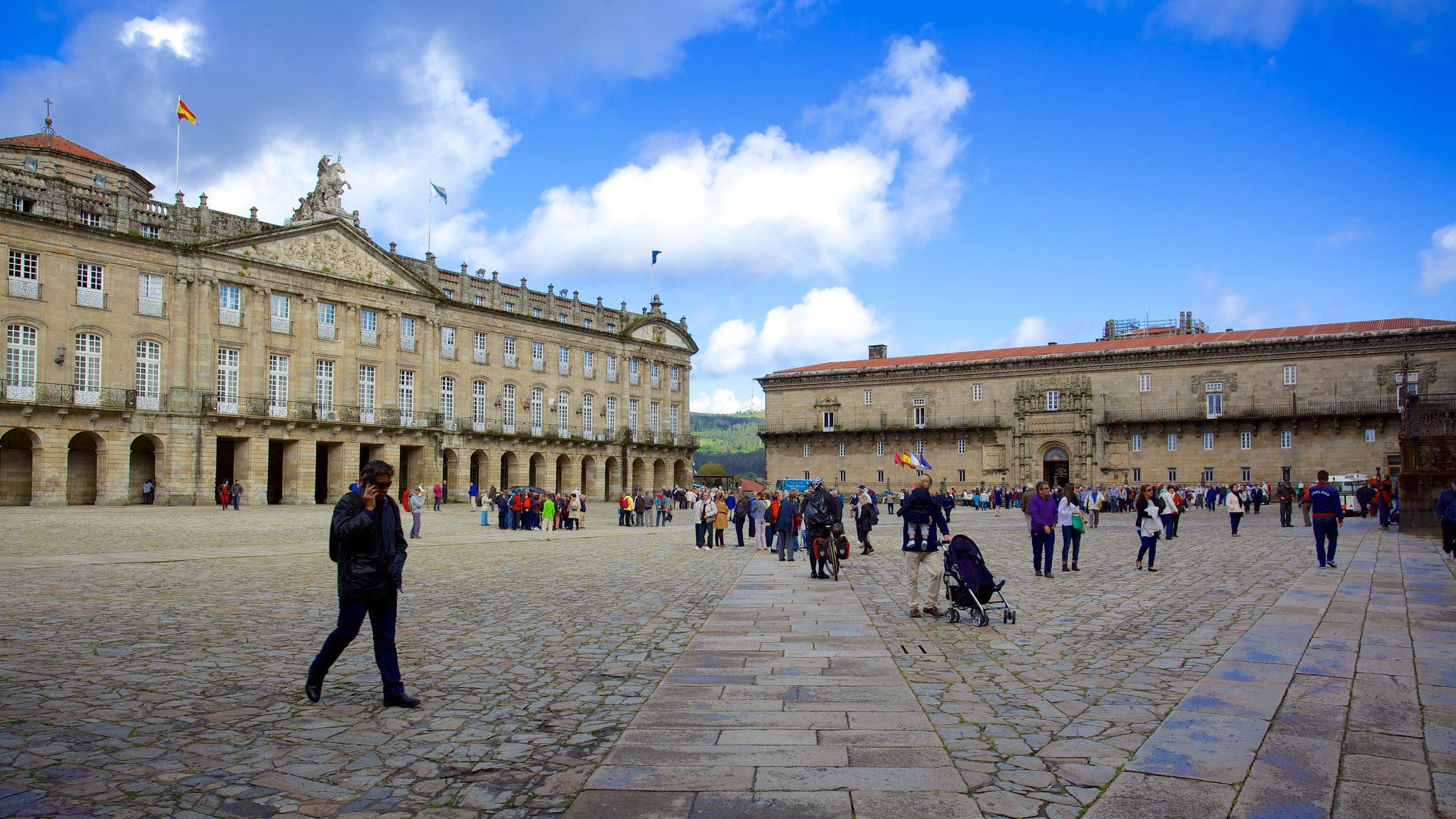 Pazo de Raxoi, Santiago de Compostela, Galicia, España