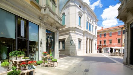 Mestre featuring street scenes
