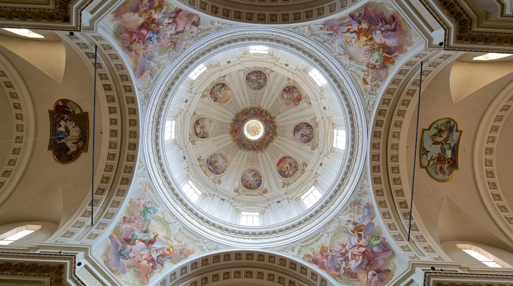 Cathedral of San Giovanni Battista featuring a church or cathedral, religious elements and interior views