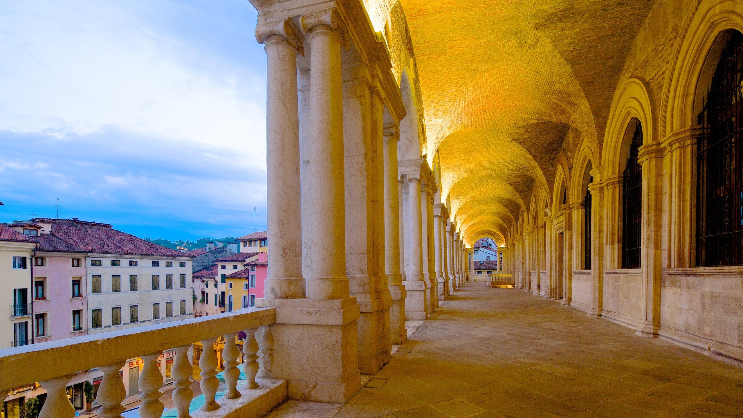 Piazza dei Signori, Vicenza, Veneto, Italien