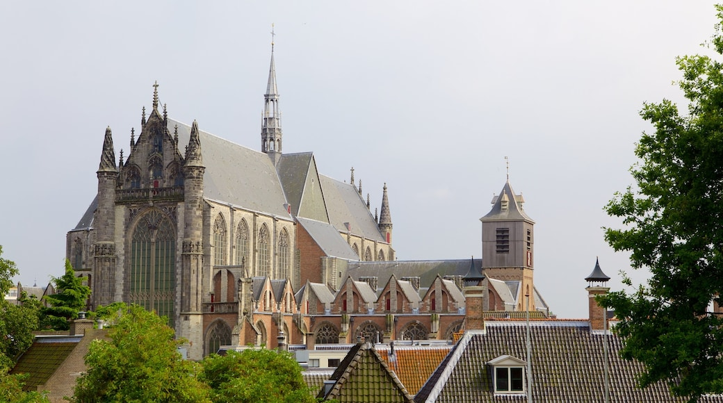 Burcht featuring religious aspects, a church or cathedral and heritage architecture