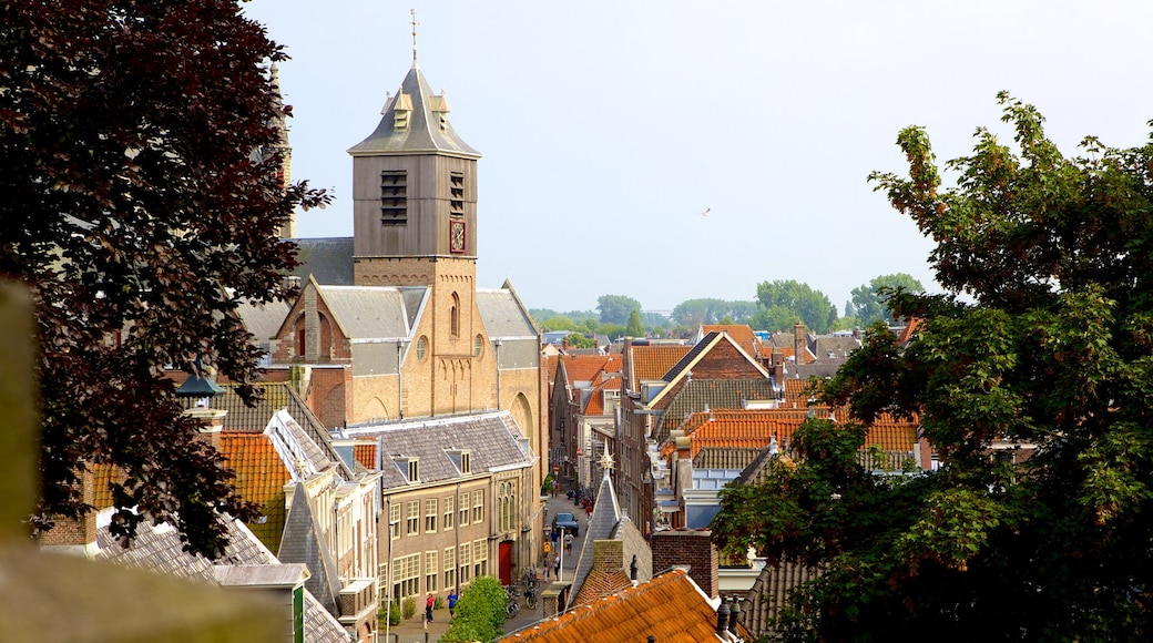 Burcht featuring a city and heritage architecture