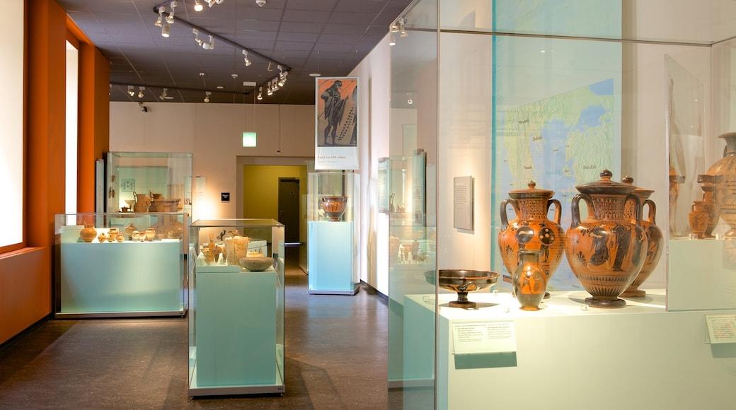 Rijksmuseum van Oudheden showing interior views