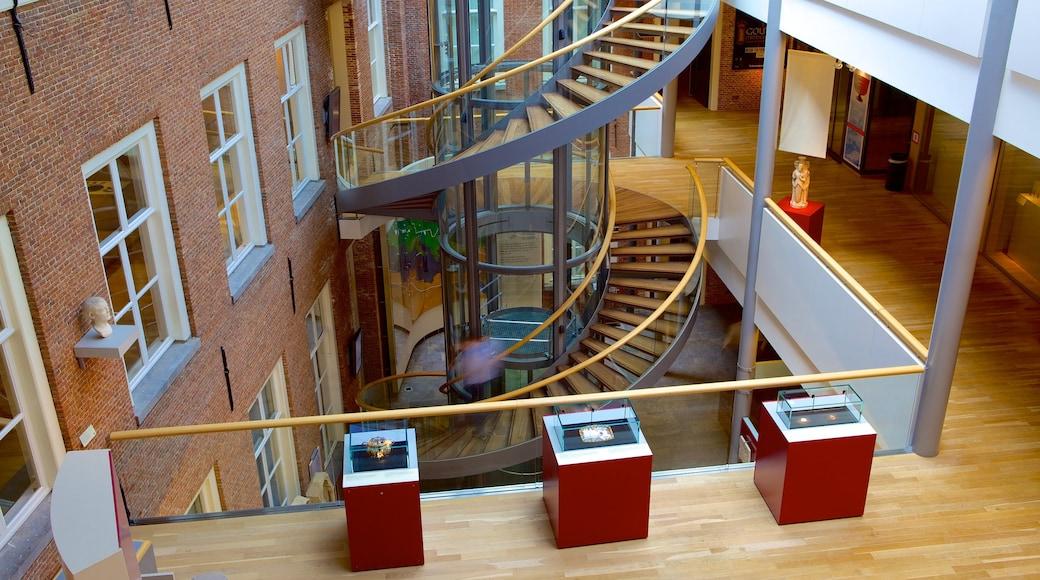 Rijksmuseum van Oudheden toont moderne architectuur en interieur