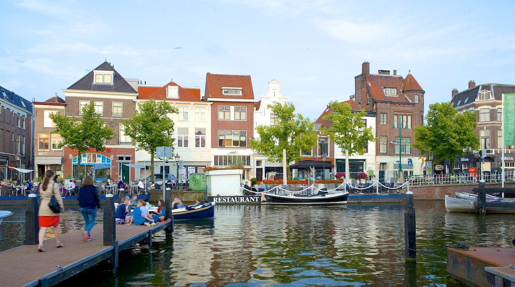 Beestenmarkt featuring a river or creek and a small town or village
