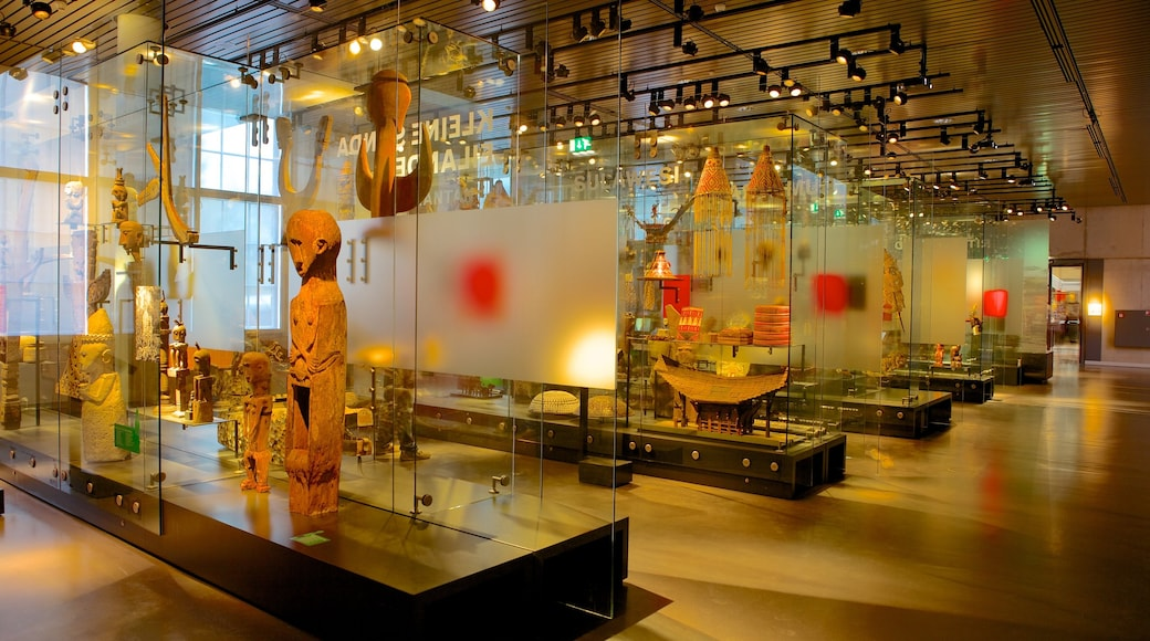 National Museum of Ethnology which includes interior views