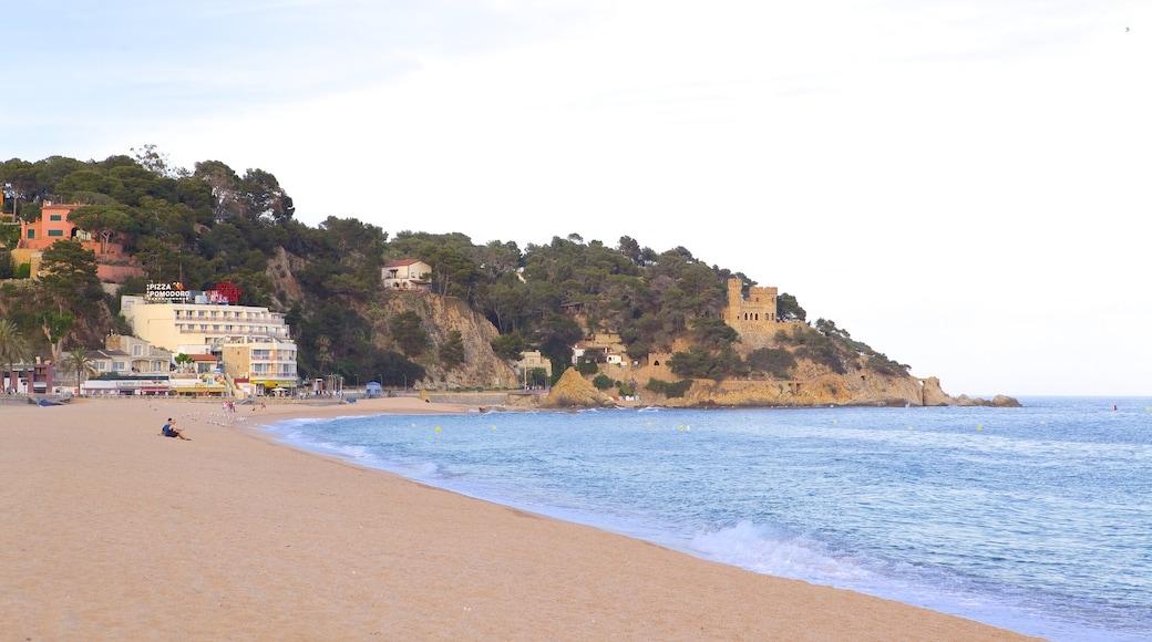 Plage de Lloret de Mar qui includes plage