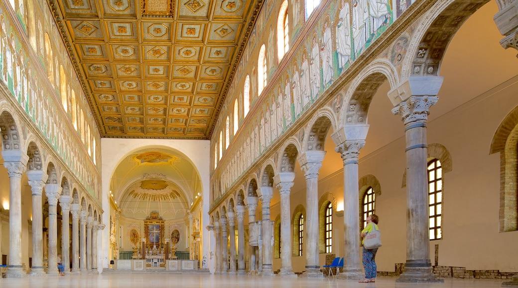 Basilica di Sant\'Apollinare Nuovo caratteristiche di vista interna, religiosità e chiesa o cattedrale