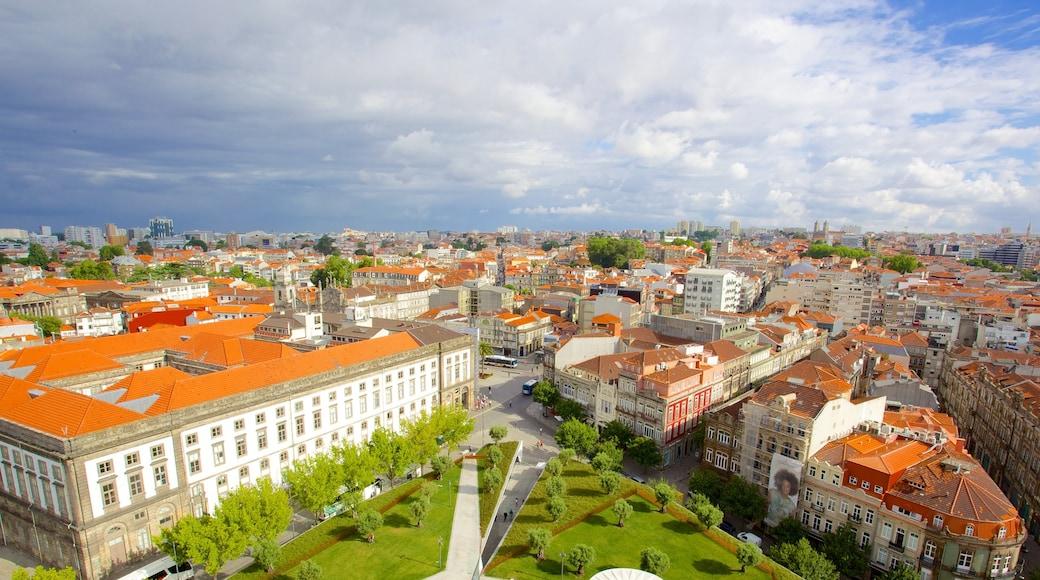 Porto som viser by og liten by eller landsby
