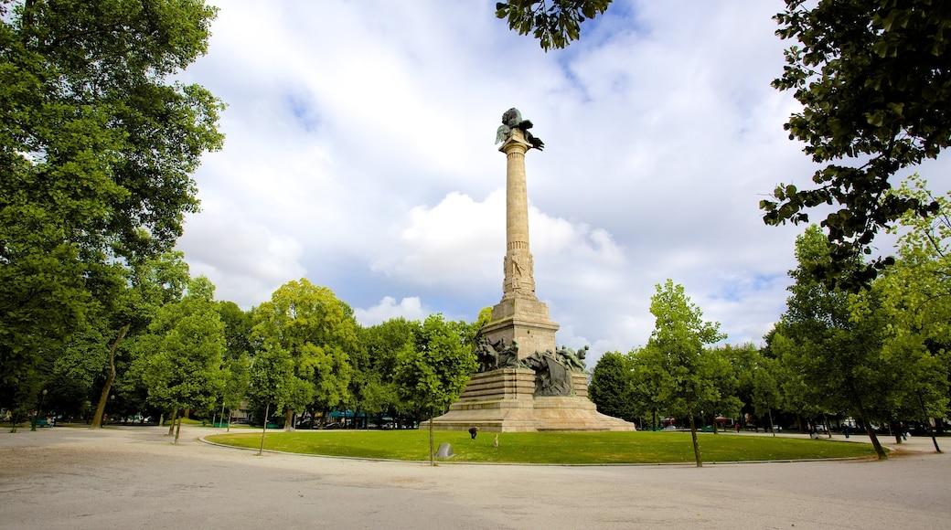 Porto som inkluderer park og monument