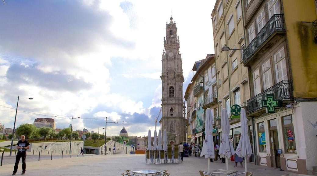 Porto fasiliteter samt gatescener