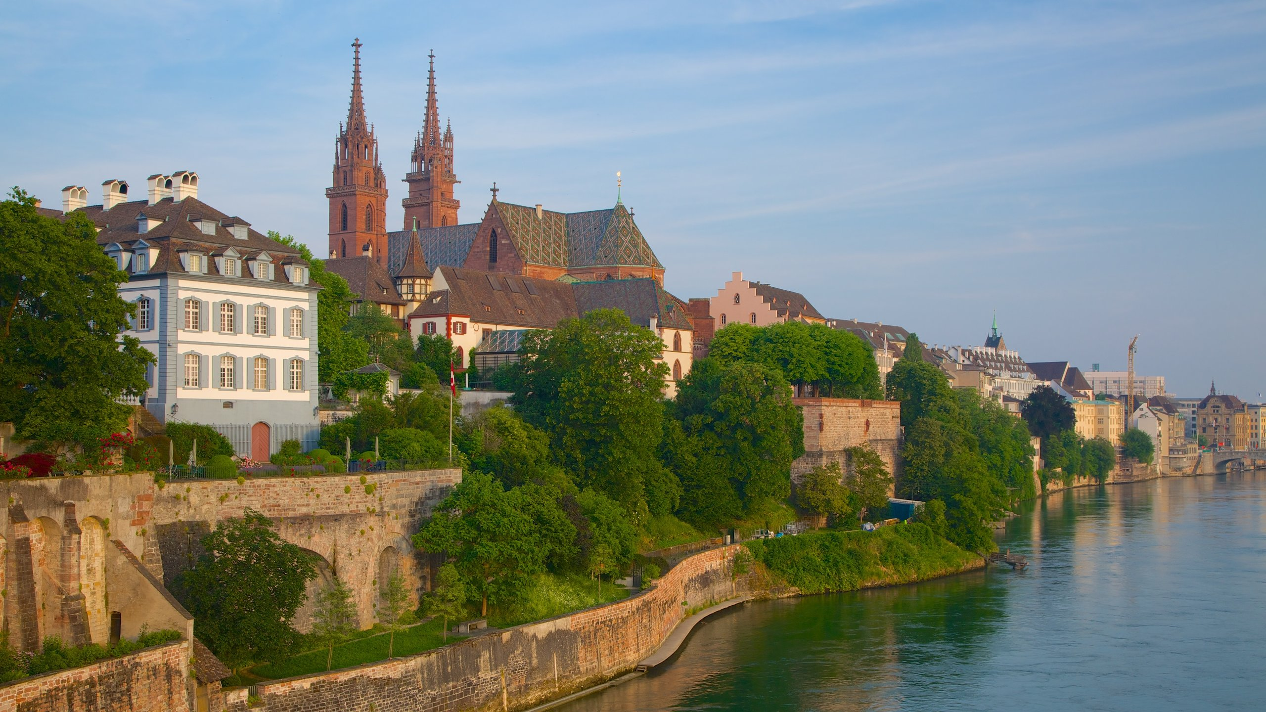 Basler Muenster, Basel, Basel-Stadt, Switzerland