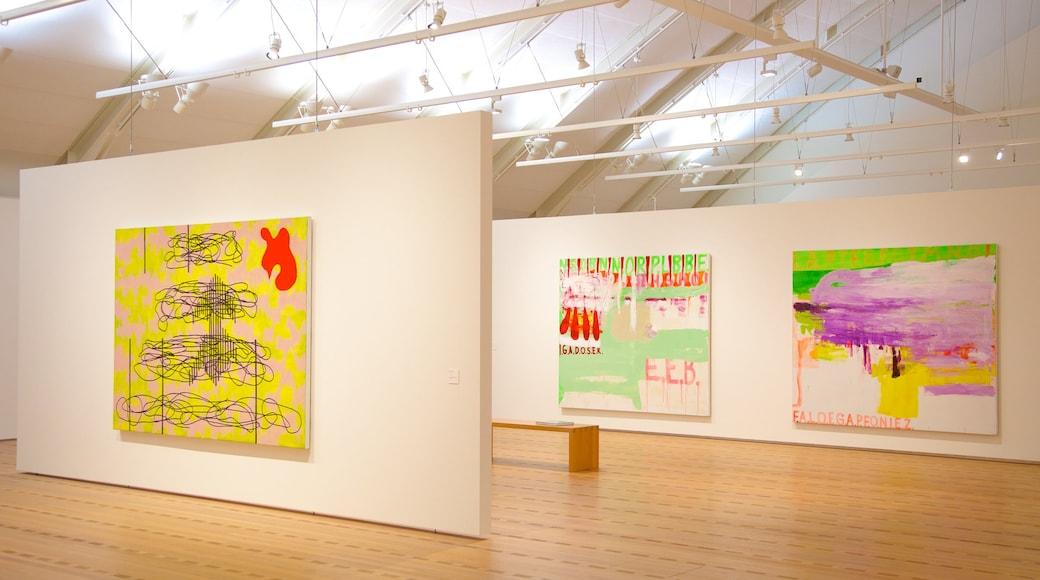 Museu Paul Klee que inclui arte e vistas internas