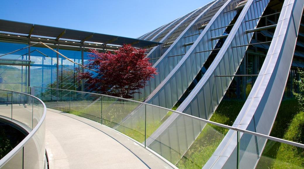 Museu Paul Klee que inclui arquitetura moderna