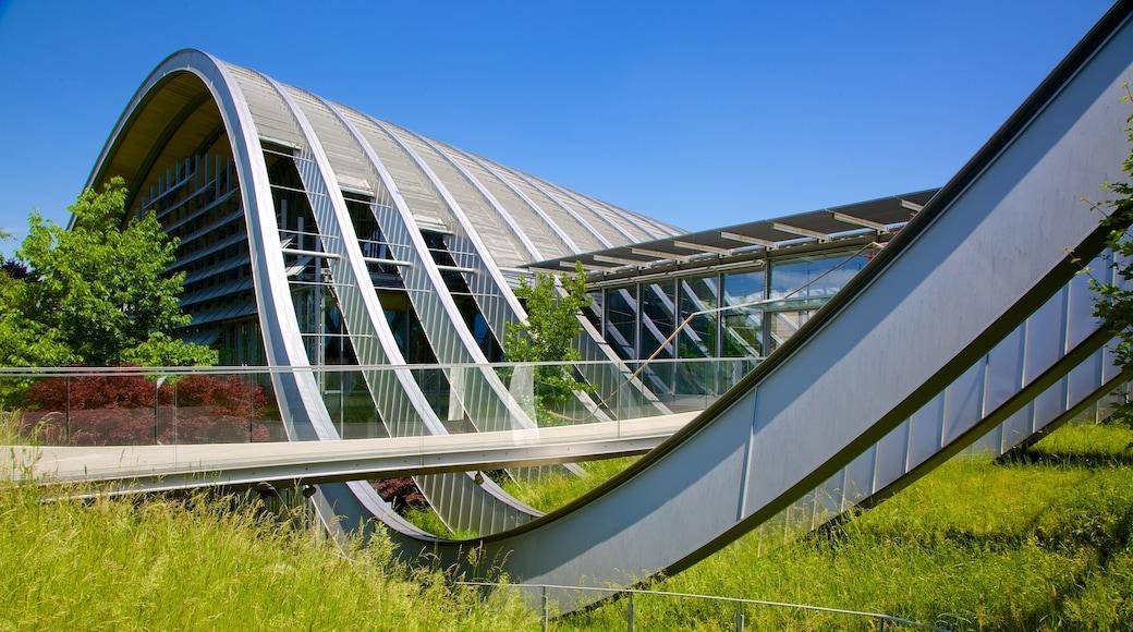 Museu Paul Klee caracterizando arquitetura moderna