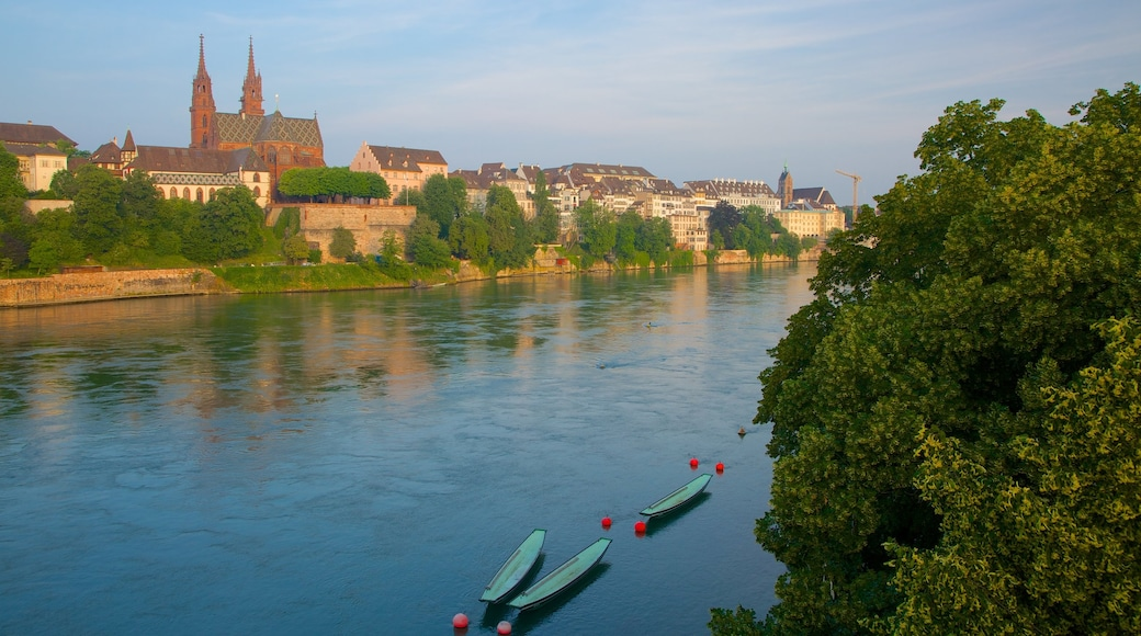 Basel which includes a river or creek