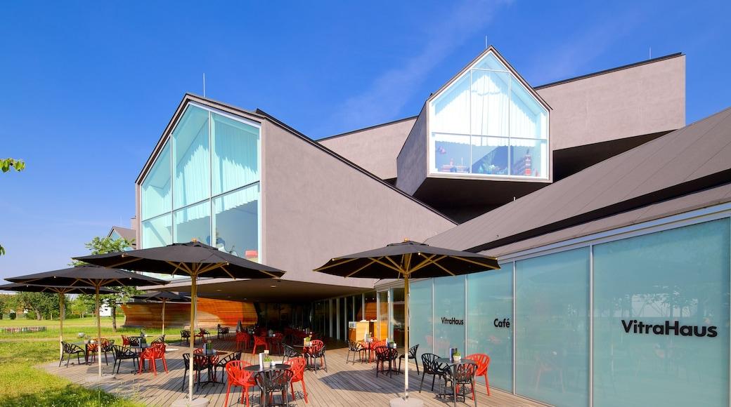 Basilea que incluye restaurantes y comidas al aire libre