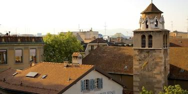 Geneva showing heritage architecture