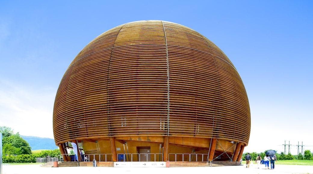 CERN ofreciendo arquitectura moderna