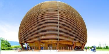 CERN showing modern architecture