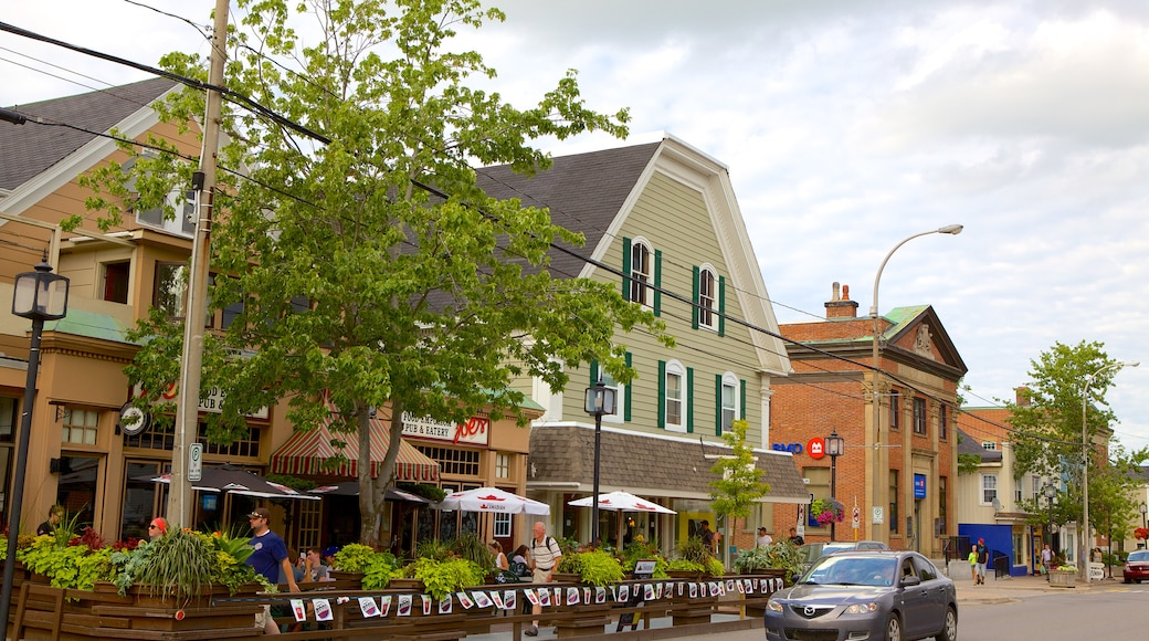 Wolfville which includes street scenes