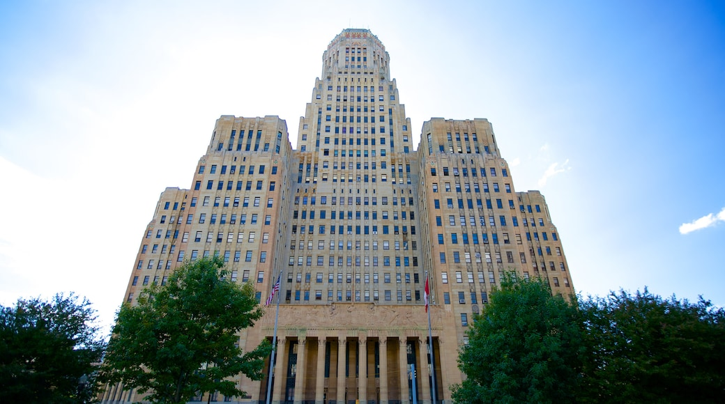 Buffalo City Hall which includes an administrative building and street scenes