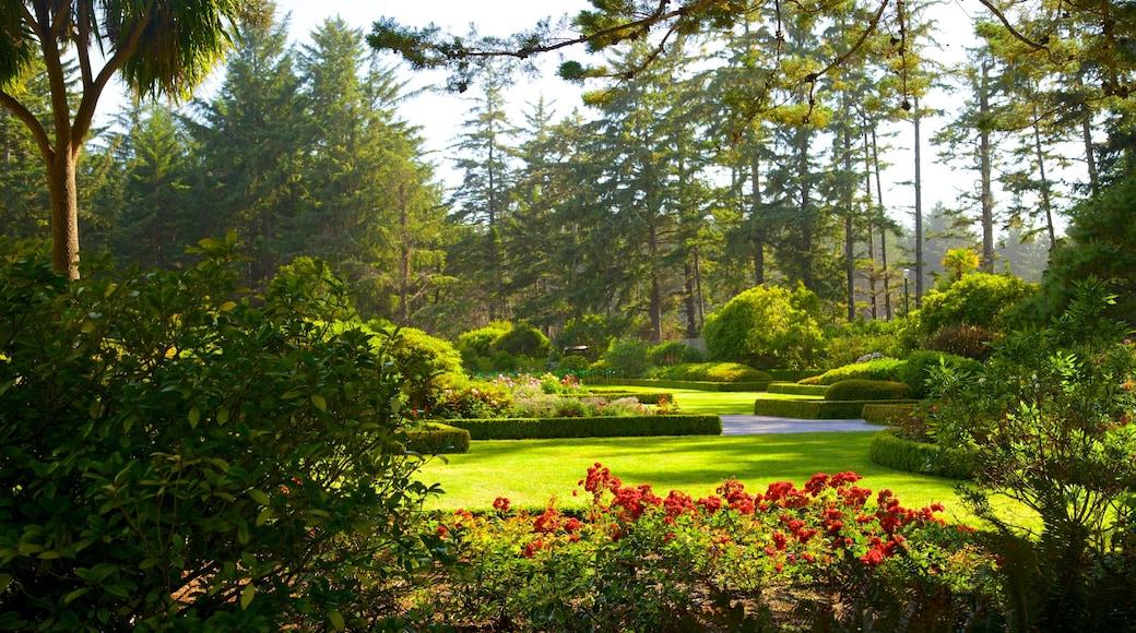 Shore Acres State Park featuring a garden