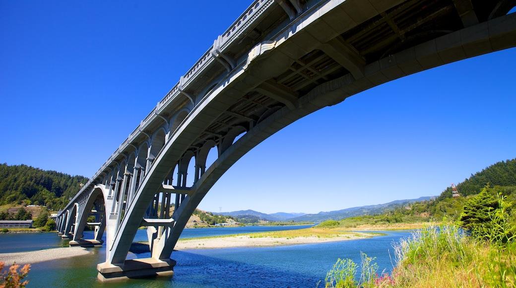 Patterson Bridge featuring a bridge and a river or creek
