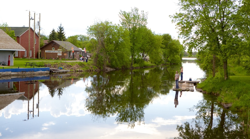 Merrickville featuring a river or creek