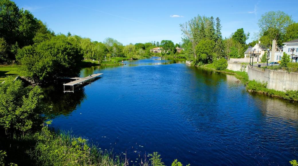 Kemptville showing a lake or waterhole