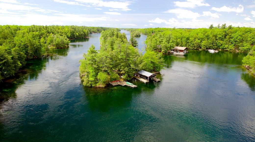 Thousand Islands featuring landscape views, wetlands and a river or creek