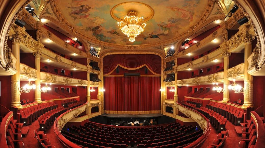 Koninklijke Opera van Wallonië inclusief theaters en interieur