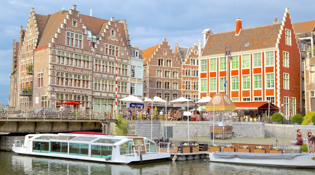 Ghent featuring heritage architecture and a city