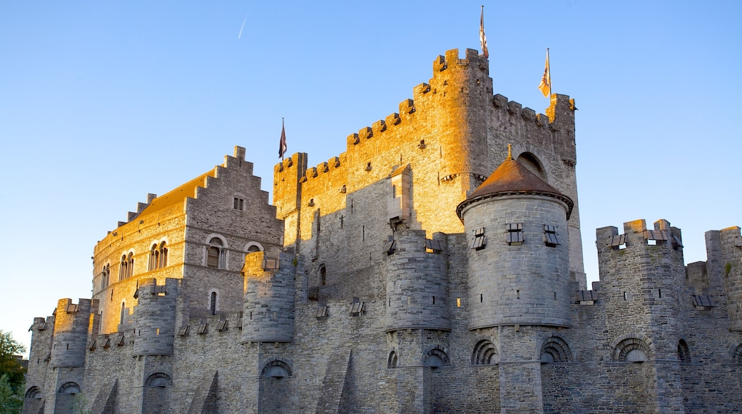 Gravensteen featuring heritage architecture and a castle