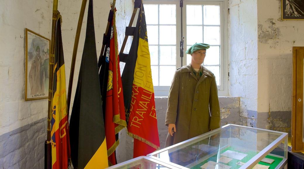 Fort van Huy toont interieur en historisch erfgoed