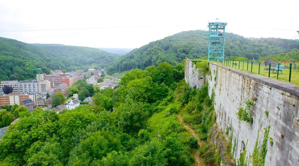 Fort van Huy inclusief een stad