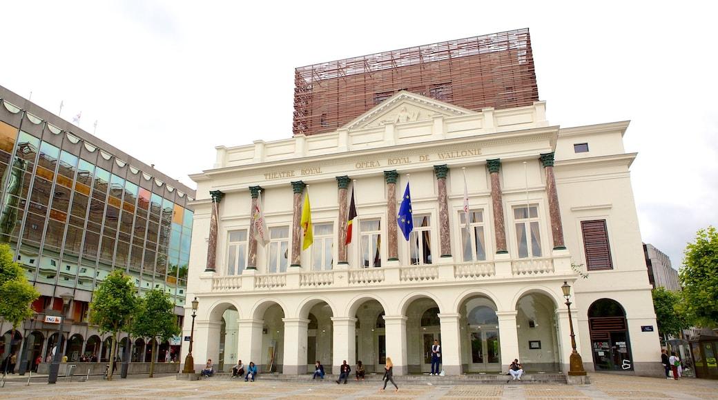 Koninklijke Opera van Wallonië toont historische architectuur