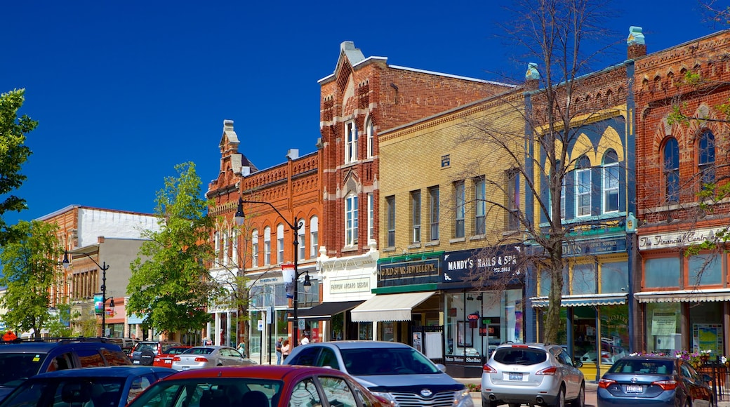 Collingwood which includes heritage architecture, street scenes and a small town or village