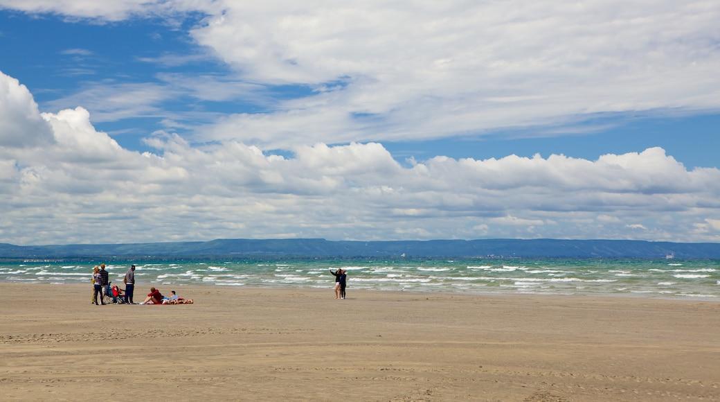 Wasaga Beach which includes a sandy beach