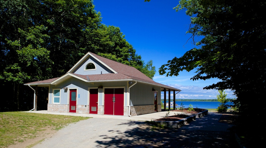 Georgian Bay Islands National Park which includes a house