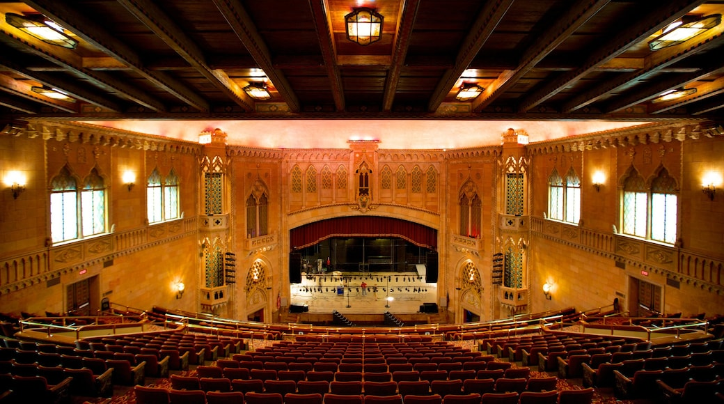 Hershey Theater showing interior views and theater scenes