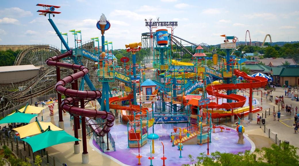 Hersheypark caracterizando um parque aquático