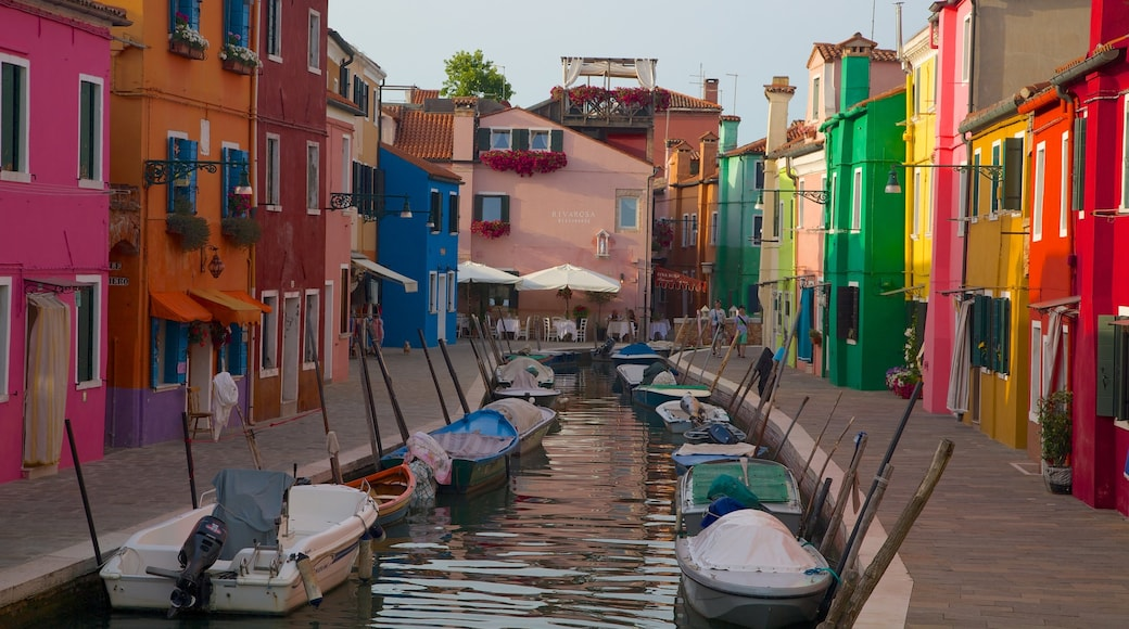Burano which includes a river or creek