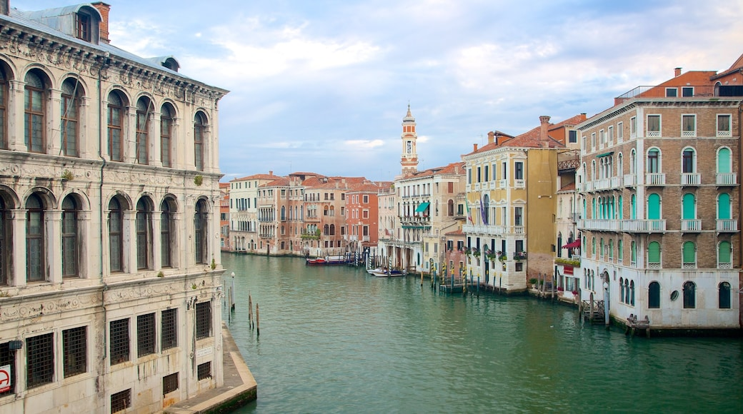 Venice featuring heritage architecture and a river or creek
