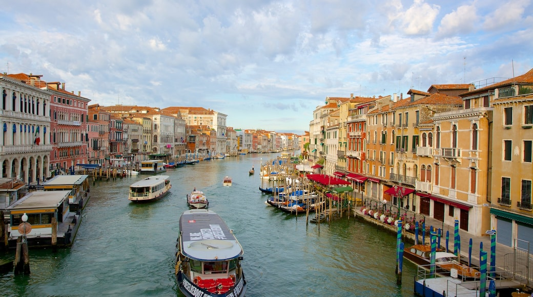 Venice which includes a river or creek and heritage architecture