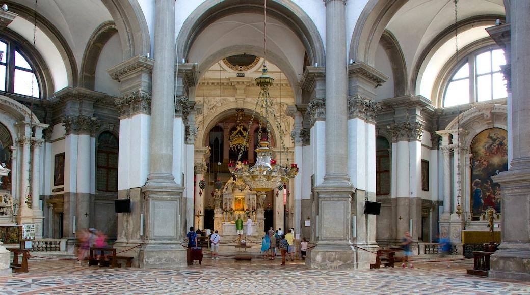 Venedig das einen historische Architektur und Innenansichten