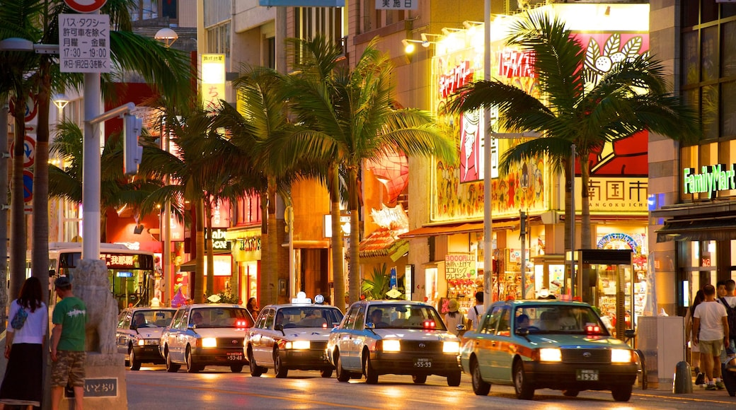 International Street featuring nightlife, a city and street scenes