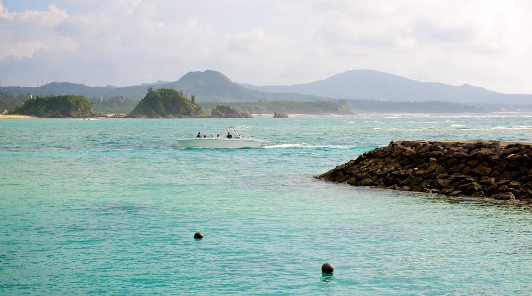 Busena Marine Park featuring rocky coastline