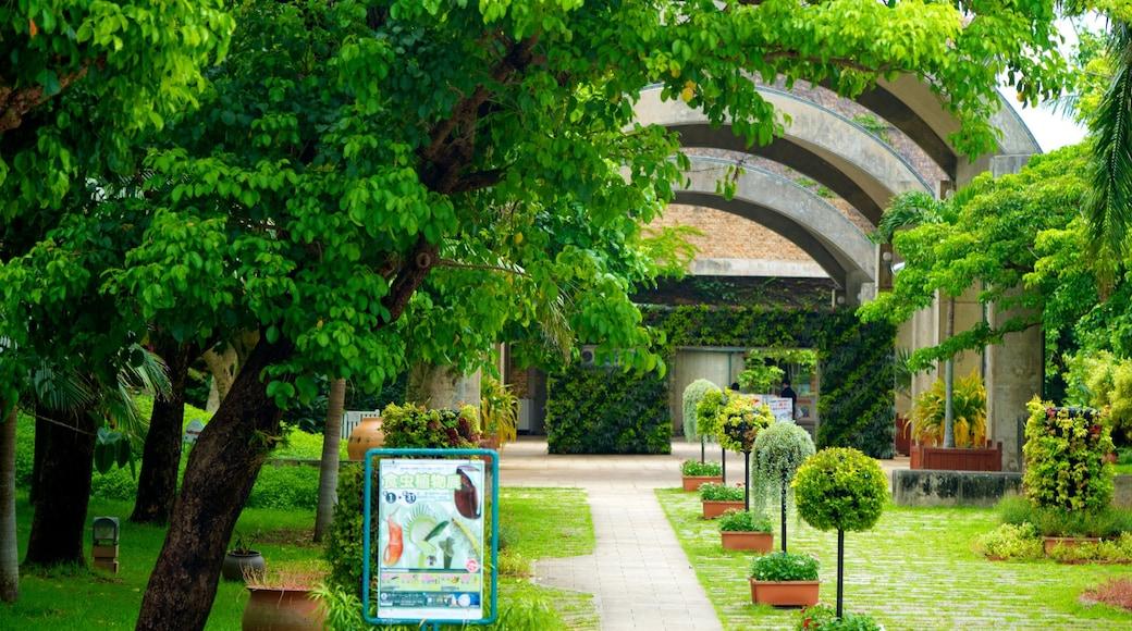 Ocean Expo Memorial Park das einen Garten